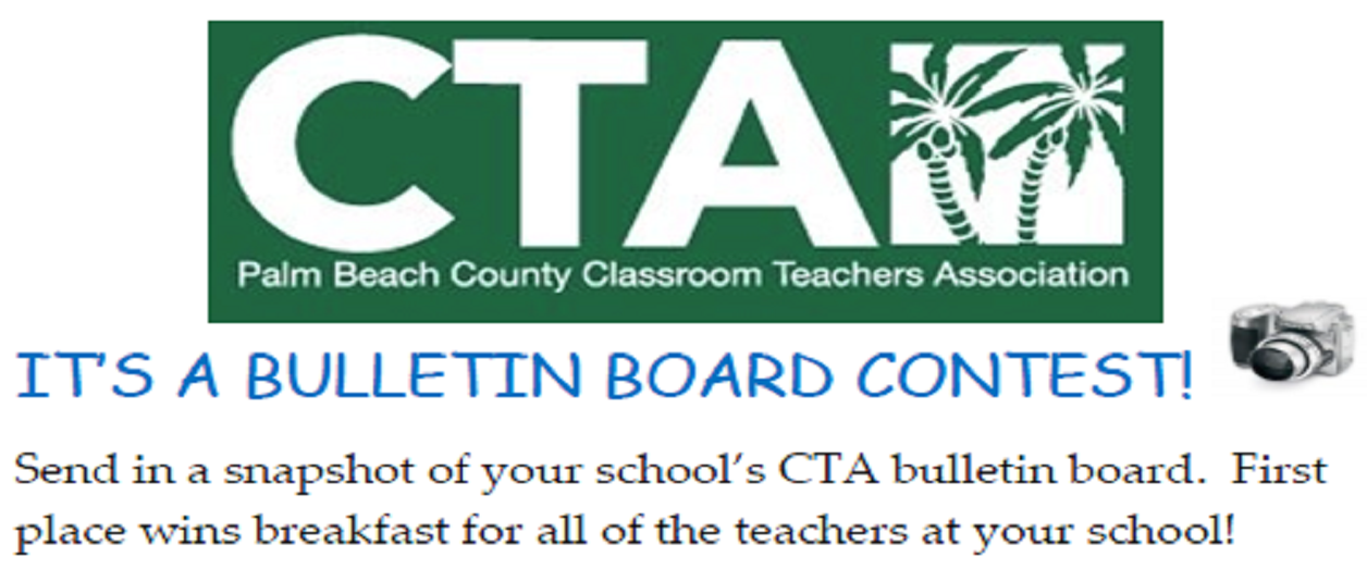 CTA Representative Bulletin Board Contest