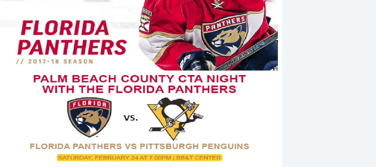 PBCCTA Florida Panthers Night!